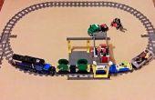 Het creëren van aangepaste 90° LEGO trein punten voor uw lay-out