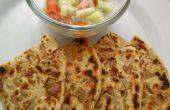 Lekkere krokante Punjabi UI pratha / brood recept
