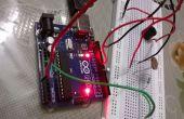 Pak Alarm met behulp van arduino LDR + piëzo zoemer