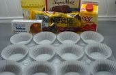 Chocolade Cupcakes met roomkaas vulling
