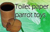 Toiletpapier rol papegaaien speelgoed