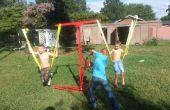 DIY Kinder carnaval stijl Swing rit