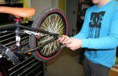 Wijzigen van een fiets-buis