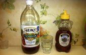 Apple Cider azijn keelpijn Rinse