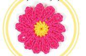 Hoe haak een twaalf Petal bloem