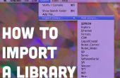 Importeren van een codebibliotheek aan Arduino