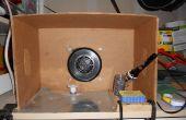 Zelfgemaakte solderen rook Extractor Station
