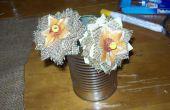Hoe maak je jute bloemen