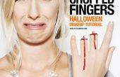 Afgehakte vingers - SFX make-up Tutorial