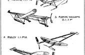 Model vliegtuigen te bouwen