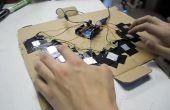 Capacitieve-Touch Arduino toetsenbord Piano