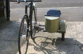 Bouwen van een fiets zijspan