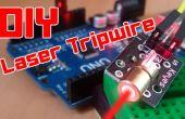 DIY | Gemakkelijk Arduino Laser Tripwire beveiligingssysteem!