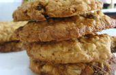 Kaneel-rozijn havermout koekjes - de beste ooit!