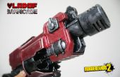 Nerf Barricade Borderlands 2 Vladof pistool prop