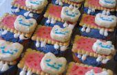 Regenboog Nyan Cat Cupcakes