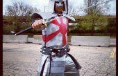 "How to make een Marvel's ""Silver Samurai"" kostuum"