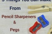 3 dingen die u van de puntenslijpers & haringen maken kunt