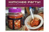 Kimchee Party! Een recept en een primer op gisting