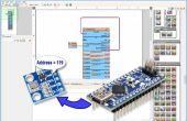 Scannen van de Arduino I2C-Bus voor aangesloten I2C apparaten met Visuino