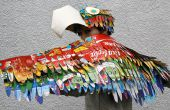 Makedo papegaai kostuum: Wearable vogel vleugels en Parrot Hat
