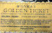 Hoe maak je een betoverde Object (de gouden Ticket van The Chocolate Factory)