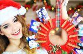 DIY kerstcadeau (foto krans)