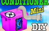 Hoe te maken van een mini air conditioner / HACK PC FAN