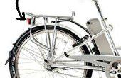 Elektrische fiets knipperende LED-achterlicht met een 5V naar 48V Input Voltage bereik