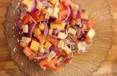 Tomaat & kaas salade