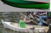 Fab uw eigen roeiboot van goedkope pvc buizen, tent weefsel en onderdakfolie ($70!)