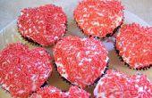 Make Heart Shaped Cupcakes zonder een speciale Pan