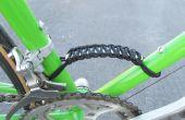 Paracord fiets Frame verwerken