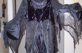 Griezelig spookachtige kostuum