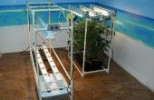 Mijn Indoor NFT hydrocultuur systeem