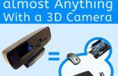 Bijna alles onder controle met een 3D-camera (met inbegrip van uw Arduino)