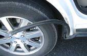 Auto weer stripping reparatie
