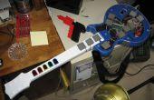 Elektrische Funkatron: Een gitaar-stijl MIDI Drum Controller