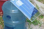 Zonne-energie algen bioreactor