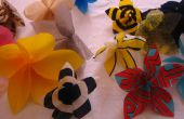 Wallflowers (Plastic zak opknoping bloemen)