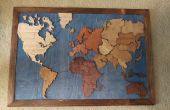 100% houten risico Board van schroot