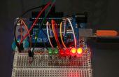 Arduino licht staafdiagram gevoelige