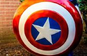 Op maat gemaakte Captain America helm