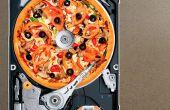 Hoe maak je een HDD PIZZA CUTTER