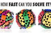7 x 7 x 7, Gear Ball, en 2 x 2 of Rubik's kleine broertje