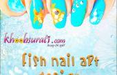 Hoe maak je vis Nail Art Design