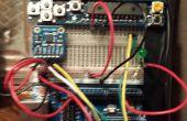Vastleggen van beweging met een Arduino versnellingsmeter w XBee Comms /