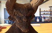 Maken van een kartonnen duivel met 123D maken