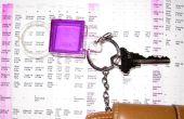 Sleutelhanger Magnifying Glass & Pocket Sized schema