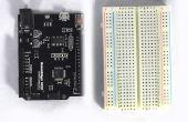 Het maken van een hypnotiserende disk met behulp van een Arduino en een kleine DC motor.